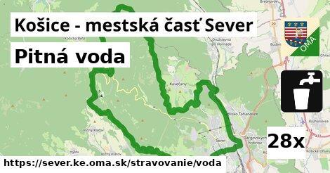 pitná voda v Košice - mestská časť Sever