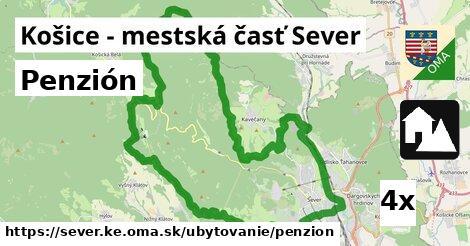 penzión v Košice - mestská časť Sever
