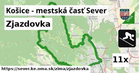 ilustračný obrázok k Zjazdovka, Košice - mestská časť Sever