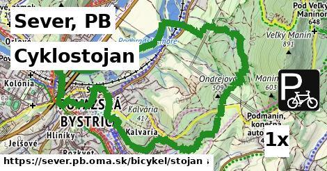 ilustračný obrázok k Cyklostojan, Sever, PB