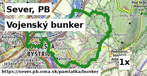 vojenský bunker v Sever, PB