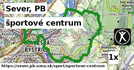 športové centrum v Sever, PB