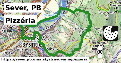pizzéria v Sever, PB