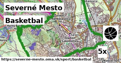 basketbal v Severné Mesto