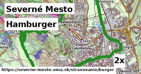 hamburger v Severné Mesto