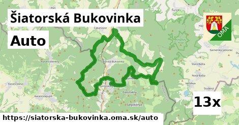 auto v Šiatorská Bukovinka