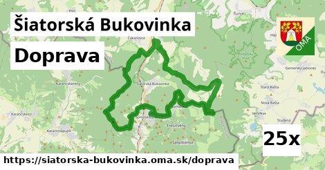 doprava v Šiatorská Bukovinka