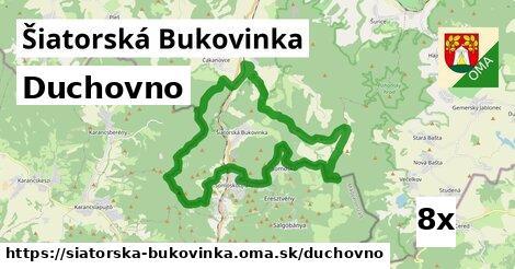 duchovno v Šiatorská Bukovinka