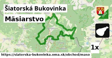 mäsiarstvo v Šiatorská Bukovinka