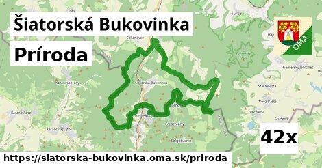 príroda v Šiatorská Bukovinka