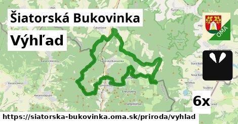 výhľad v Šiatorská Bukovinka