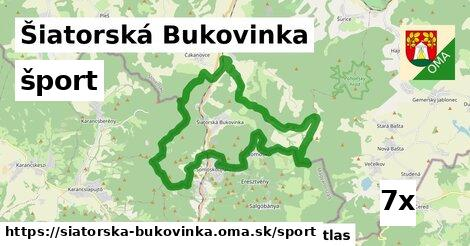 šport v Šiatorská Bukovinka