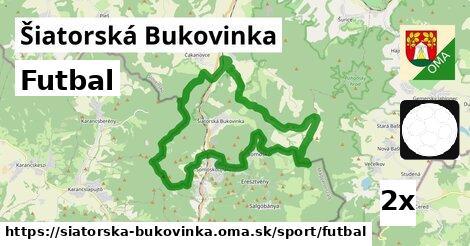 futbal v Šiatorská Bukovinka