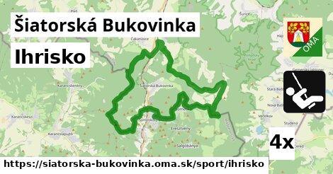 ihrisko v Šiatorská Bukovinka