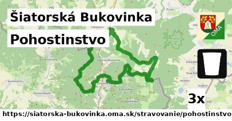 pohostinstvo v Šiatorská Bukovinka