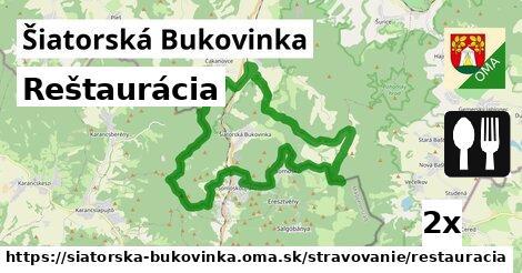 reštaurácia v Šiatorská Bukovinka