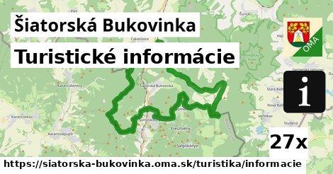 turistické informácie v Šiatorská Bukovinka