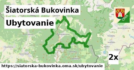 ubytovanie v Šiatorská Bukovinka