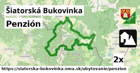 penzión v Šiatorská Bukovinka