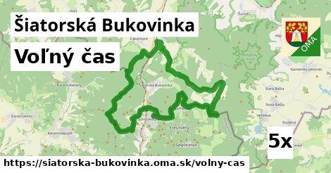voľný čas v Šiatorská Bukovinka