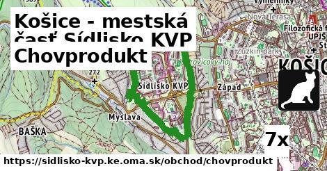 chovprodukt v Košice - mestská časť Sídlisko KVP