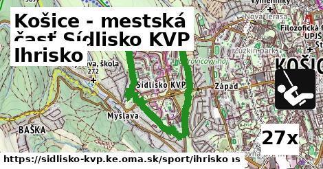ilustračný obrázok k Ihrisko, Košice - mestská časť Sídlisko KVP