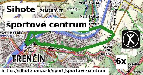 športové centrum v Sihote
