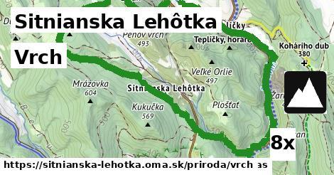 vrch v Sitnianska Lehôtka
