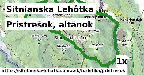 ilustračný obrázok k Prístrešok, altánok, Sitnianska Lehôtka