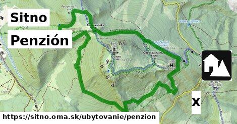 penzión v Sitno