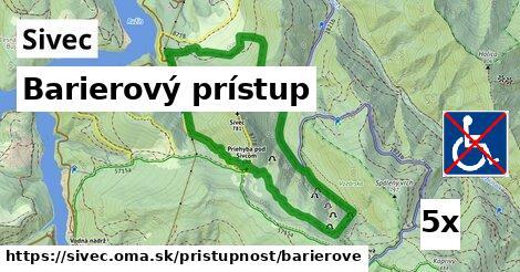 ilustračný obrázok k Barierový prístup, Sivec
