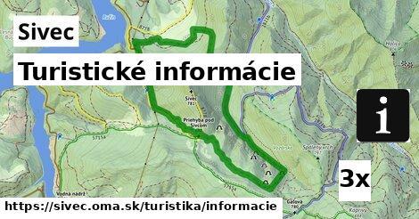 ilustračný obrázok k Turistické informácie, Sivec