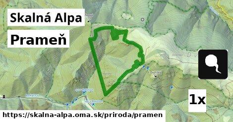 ilustračný obrázok k Prameň, Skalná Alpa