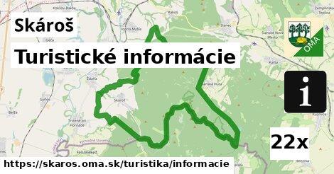 turistické informácie v Skároš