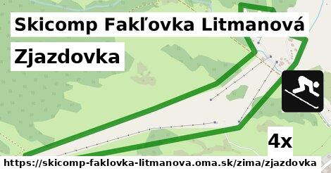 ilustračný obrázok k Zjazdovka, Skicomp Fakľovka Litmanová