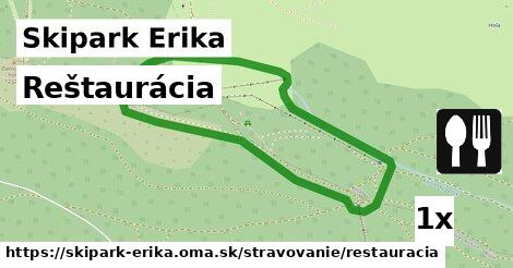 ilustračný obrázok k Reštaurácia, Skipark Erika