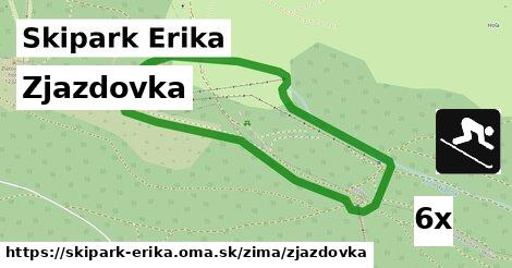 ilustračný obrázok k Zjazdovka, Skipark Erika