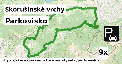 ilustračný obrázok k Parkovisko, Skorušinské vrchy