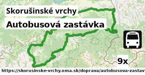 ilustračný obrázok k Autobusová zastávka, Skorušinské vrchy