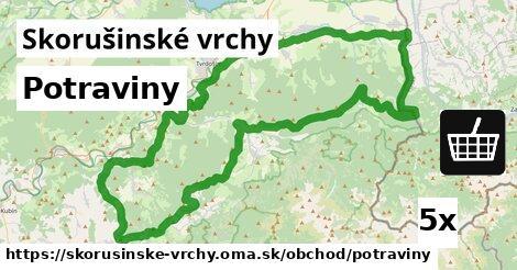 ilustračný obrázok k Potraviny, Skorušinské vrchy