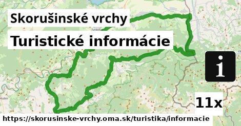 ilustračný obrázok k Turistické informácie, Skorušinské vrchy