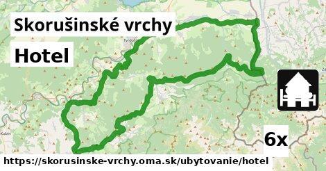 ilustračný obrázok k Hotel, Skorušinské vrchy
