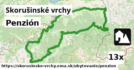 ilustračný obrázok k Penzión, Skorušinské vrchy