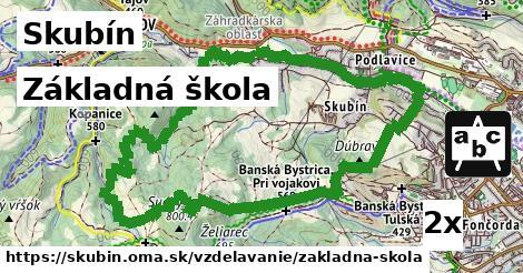 základná škola v Skubín