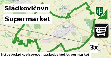 ilustračný obrázok k Supermarket, Sládkovičovo