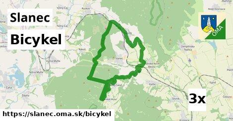 bicykel v Slanec