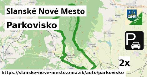 ilustračný obrázok k Parkovisko, Slanské Nové Mesto