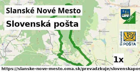ilustračný obrázok k Slovenská pošta, Slanské Nové Mesto