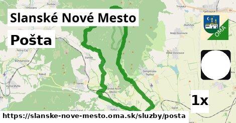 ilustračný obrázok k Pošta, Slanské Nové Mesto