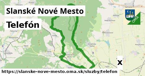 ilustračný obrázok k Telefón, Slanské Nové Mesto